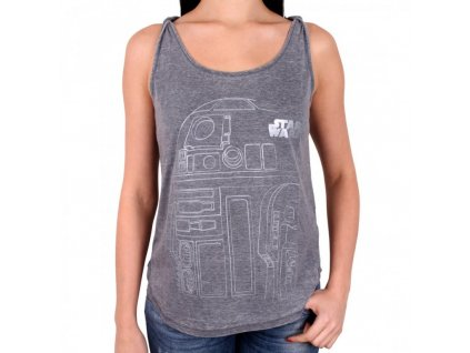 Star Wars ladies top R2-D2 (Velikost XL)
