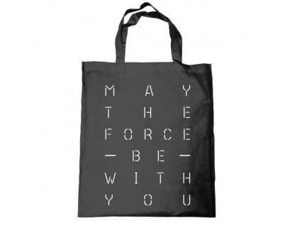 2471 star wars may the force tote taska