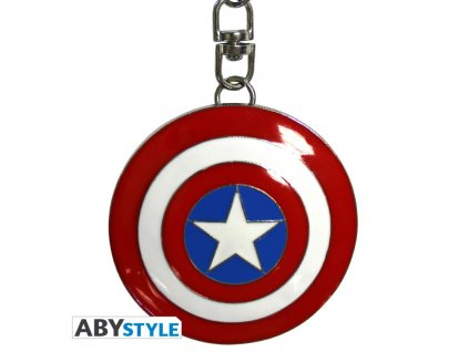 marvel keychain 3d shield captain america x2 (2)