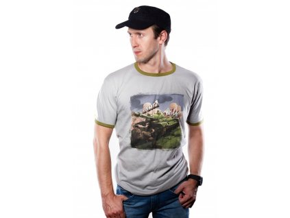 World of Tanks t-shirt Comics Tank (Velikost XL)