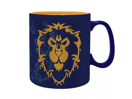 2309 world of warcraft king size mug alliance