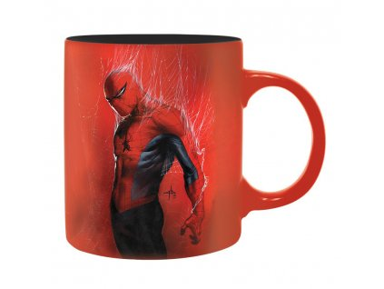 marvel mug 320 ml spider man box x2
