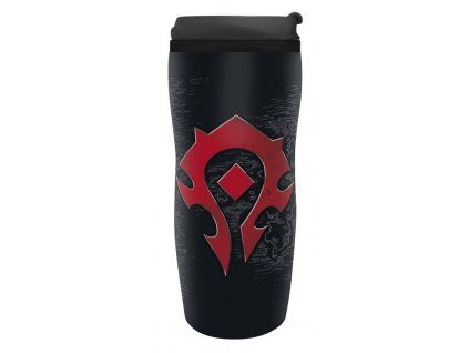 world of warcraft travel mug horde