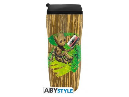 marvel travel mug groot2