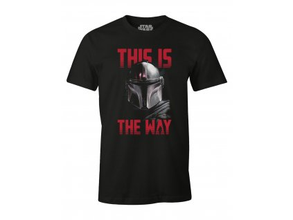 star wars the mandalorian t shirt this is the way