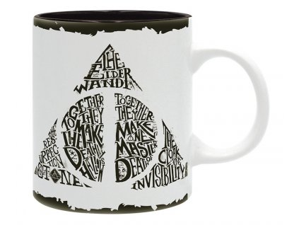 harry potter mug 320 ml deathly hallows subli x2