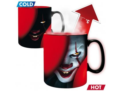 it mug heat change 460 ml pennywise time to float x2