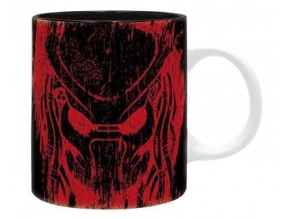 predator mug 320 ml predator red subli with box x2