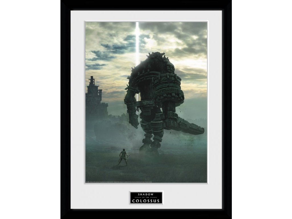 Shadow of the Colossus Zarámovaný Plakát - Key Art