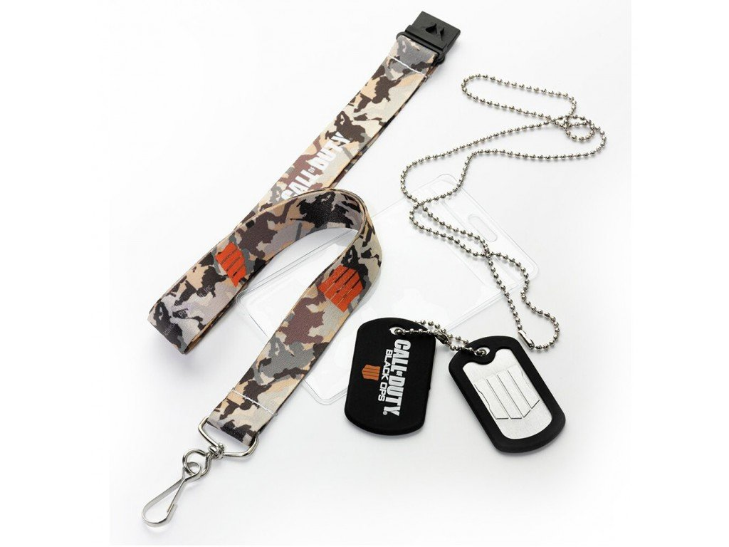 Call of Duty Black Ops Dog Tag set