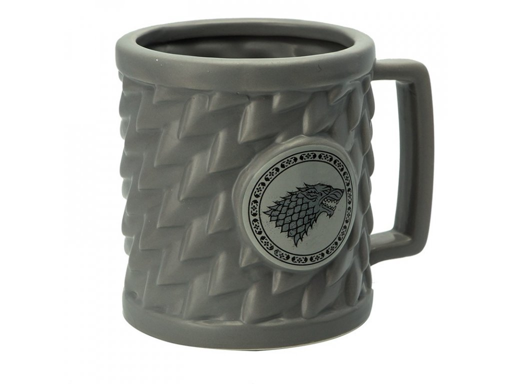game of thrones mug 3d stark x2 (2)