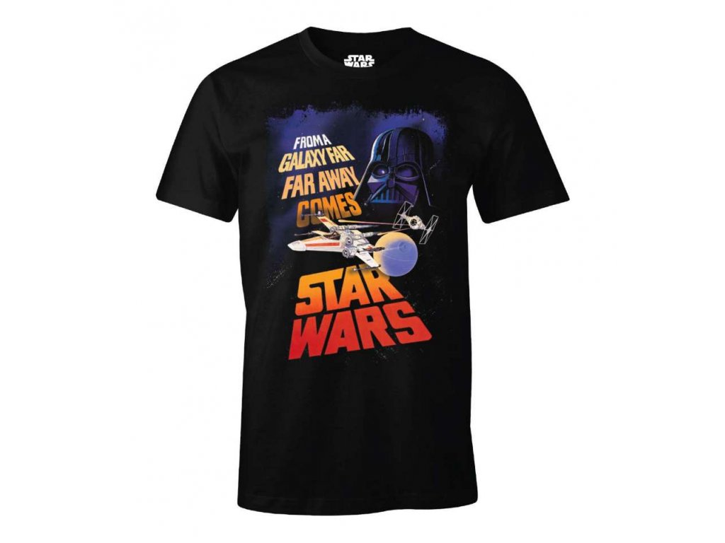 star wars t shirt galaxy far far away