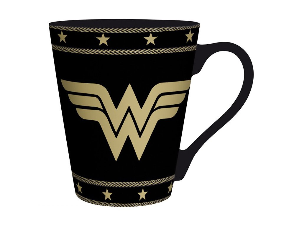dc comics mug 250 ml wonder woman box x2