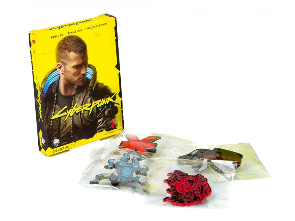 Cyberpunk 2077 Pin mystery bag