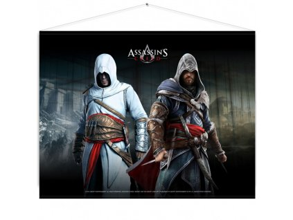 Assassins Creed Wallscroll -  Altair & Ezio
