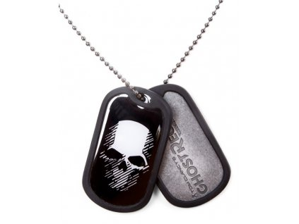 Ghost Recon Wildlands Dog Tag - Logo and Skull