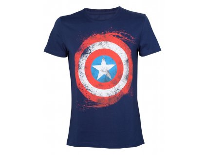 Marvel Tričko - Captain America Shield