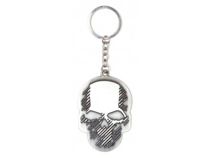 Ghost Recon Klíčenka Skull Metal