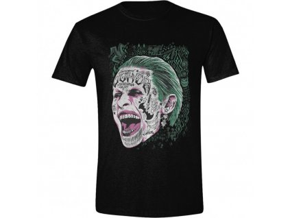 Suicide Squad Tričko - Joker Screaming