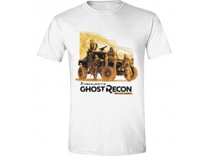 Ghost Recon Wildlands Tričko - Ghosts Men White