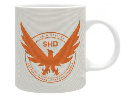 the division mug 320 ml eagle subli with box x2