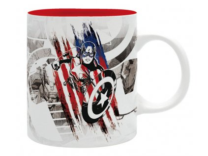 marvel mug 320 ml ca design subli with box x2