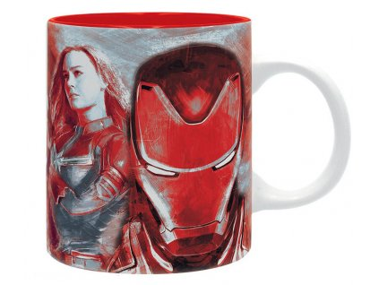marvel mug 320 ml avengers subli with box x2