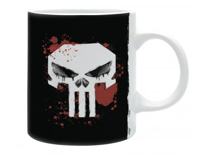 marvel mug 320 ml the punisher subli matte x2