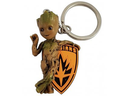 marvel key ring baby groot x1