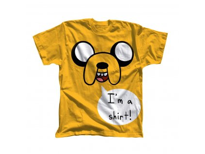 Adventure Time I m a Shirt. Yellow