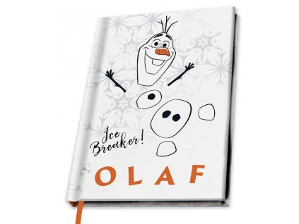disney a5 notebook frozen 2 olaf x4