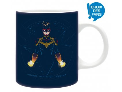 marvel mug fans choice captain marvel