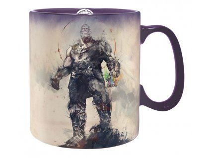 marvel mug 460 ml powerful thanos with box x2