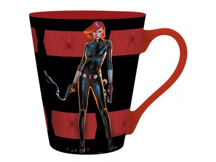 marvel mug 250 ml black widow box x2