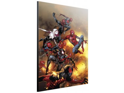 marvel art gallery spider verse s
