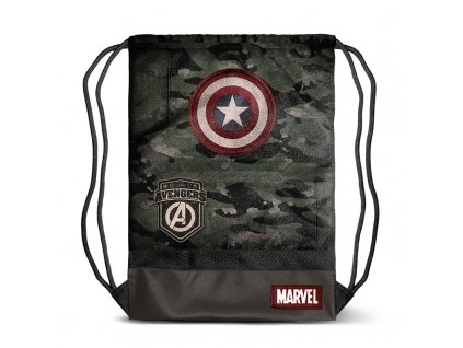 Cpt. America Army gymbag