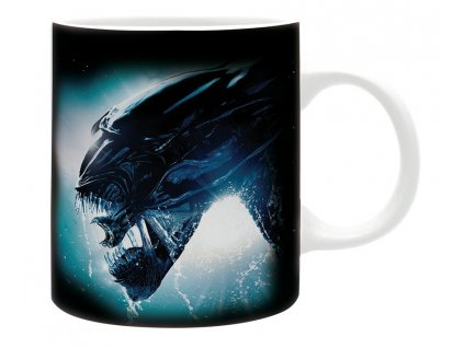 alien mug 320 ml alien subli with box x2