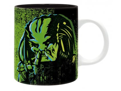 predator mug 320 ml predator green subli with box x2