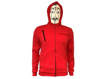 LCDP FaceHoody ZippedUpFront