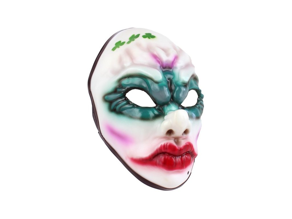 1214 payday 2 mask clover