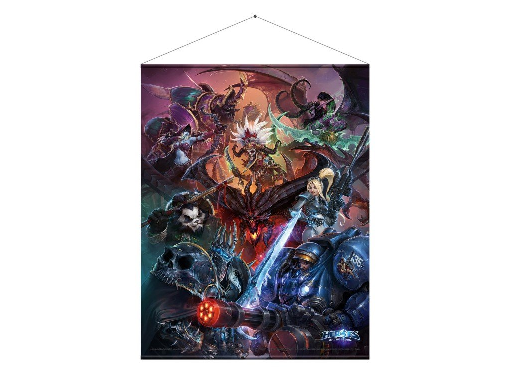 1283 heroes of the storm wallscroll