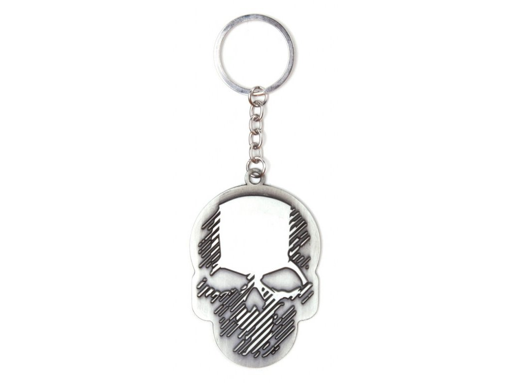 1781 ghost recon brelok skull metal