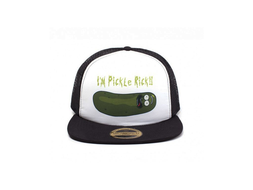 1916 rick and morty czapka z daszkiem trucker pickle