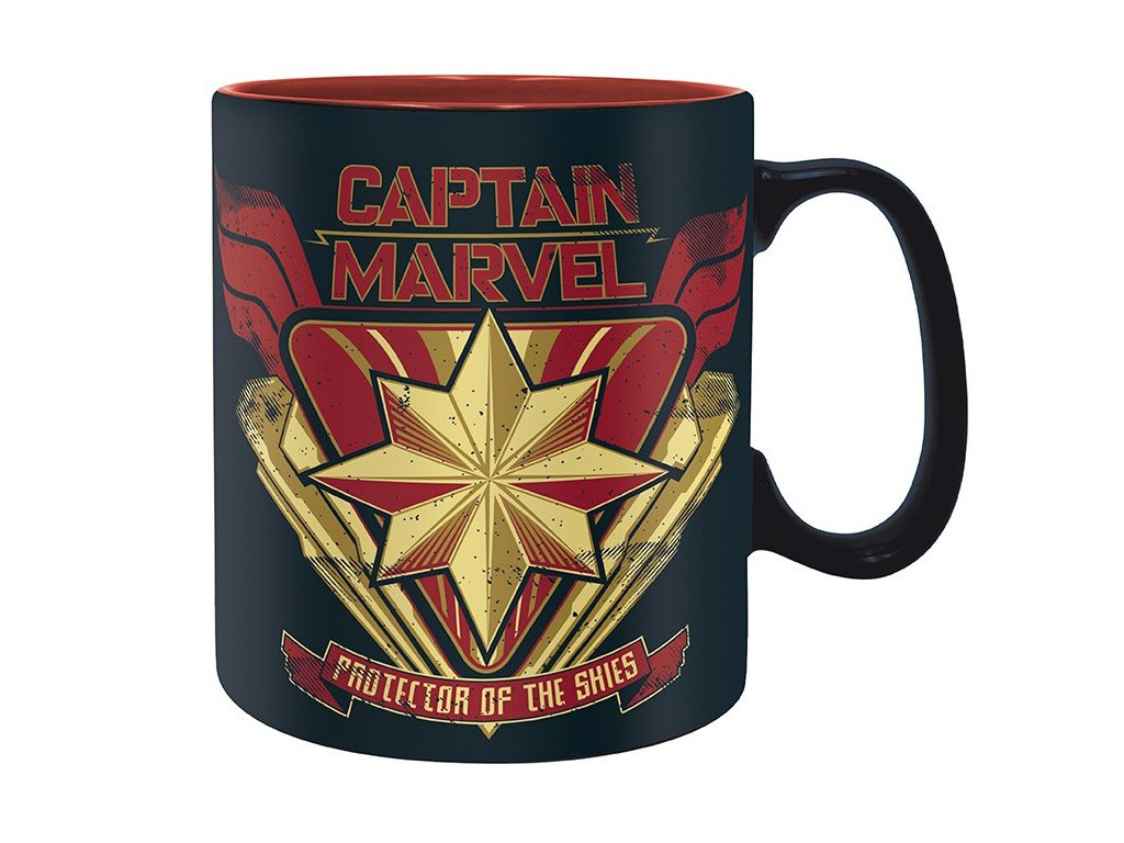 marvel mug 460 ml captain marvel porcl avec boitex2
