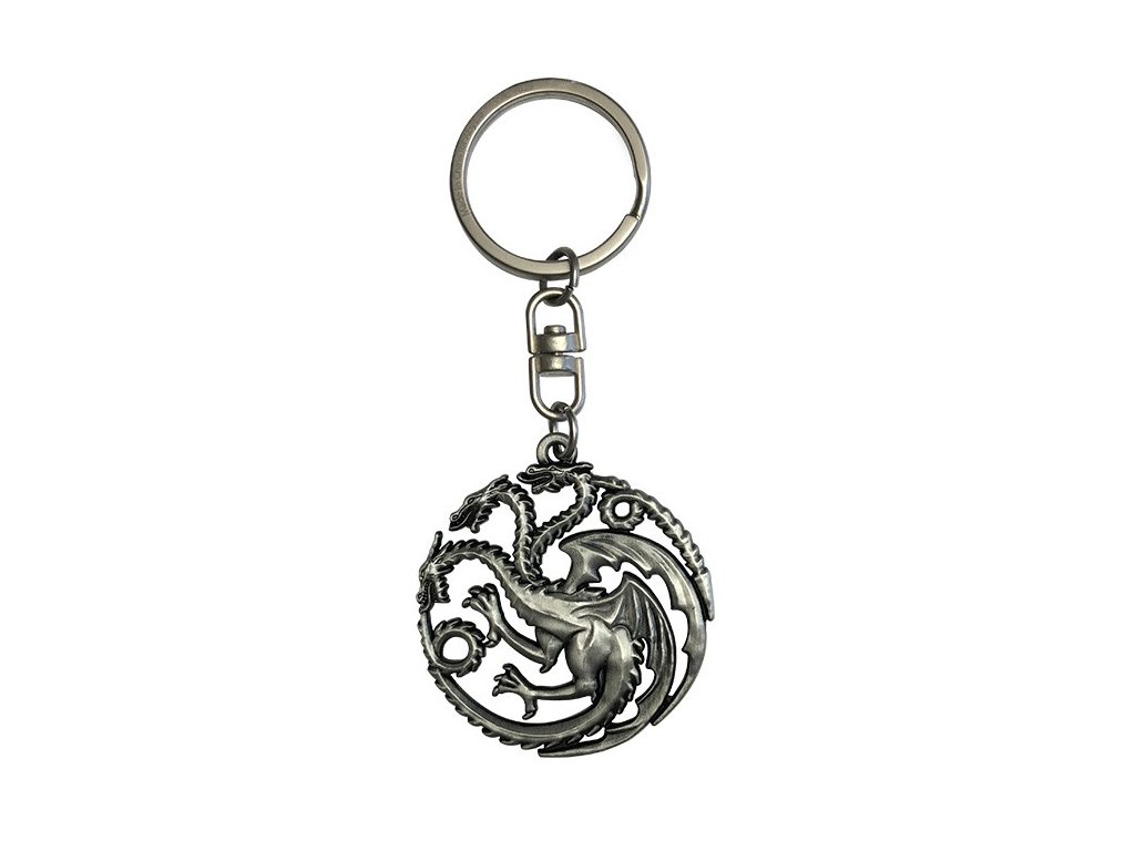 game of thrones keychain 3d targaryen x2 (1)