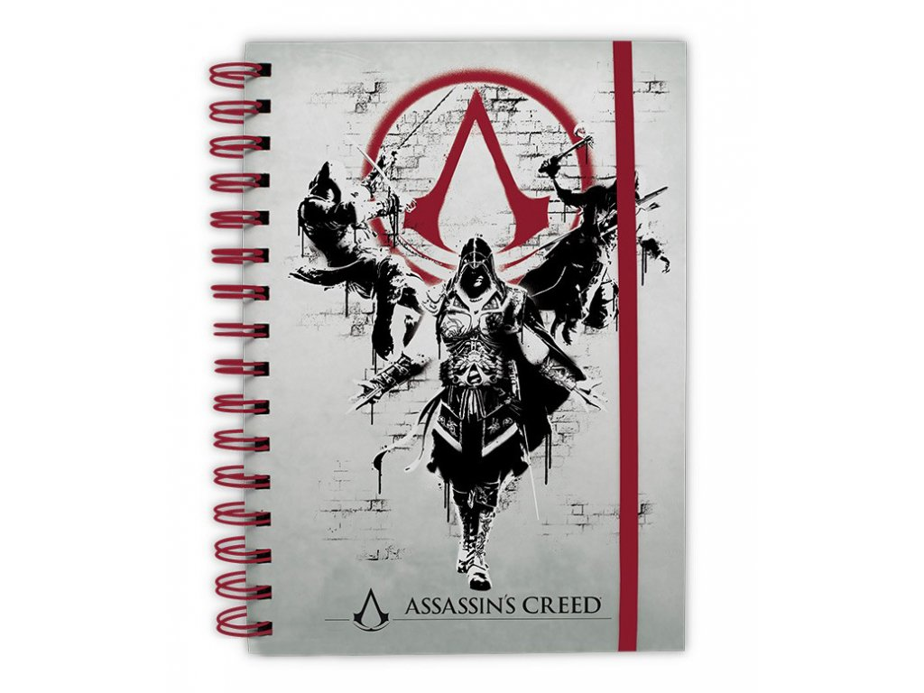 assassin s creed notebook legacy x4