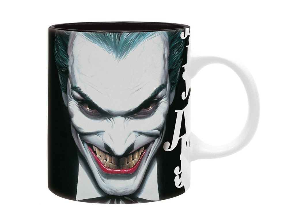 dc comics mug 320 ml joker laughing subli x2