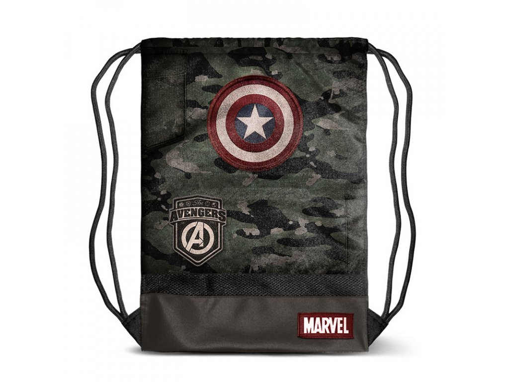 6209 cpt america army gymbag