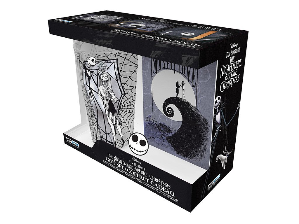 nightmare before xmas xxl glass pin pocket notebook jack