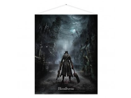 1286 bloodborne wallscroll